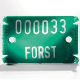 Plaquette Forestière Plastique Type 02